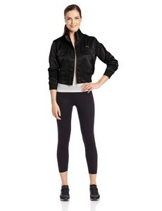 PUMA Women's Satin Bomber Jacket