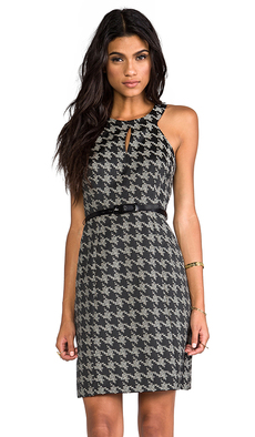 Trina Turk Petra Dress in Black