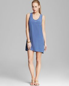 Joie Tank Dress - Peri B Silk