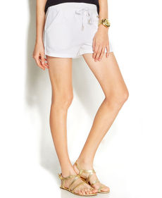 MICHAEL Michael Kors Terry Drawstring Shorts