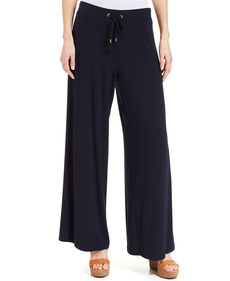 Jones New York Wide-Leg Drawstring Pants