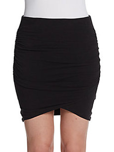 James Perse Knit Mini Skirt