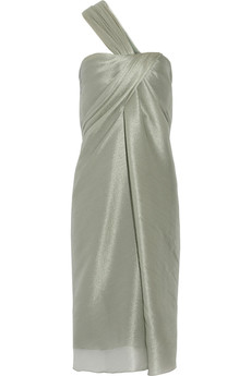 Jason Wu Metallic organza dress