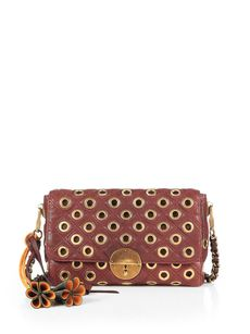 Marc Jacobs Small Gotham Fold-Over Shoulder Bag
