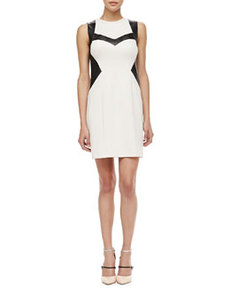 Rio Grande Leather-Trim Dress   Rio Grande Leather-Trim Dress