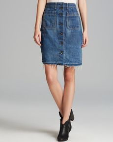 rag & bone/JEAN Skirt - Denim
