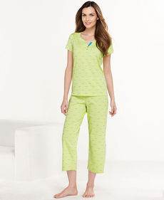 Charter Club Top and Capri Pajama Pants Set