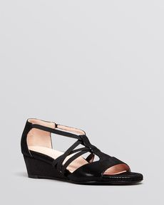 Taryn Rose Demiwedge Sandals - Senja Stretch