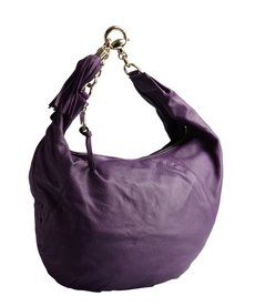 Gucci purple leather 'Sienna' chain strap hobo