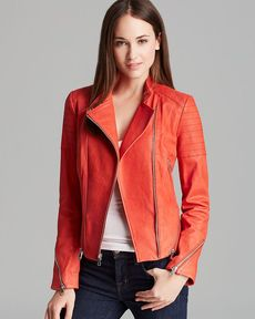 Andrew Marc Leather Jacket - Serena