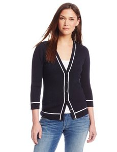 Jones New York Women's V-Neck Cardigan