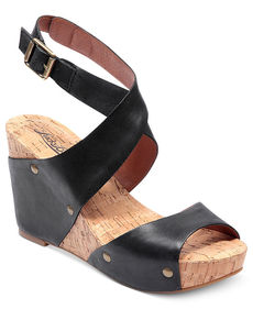 Lucky Brand Moran Wedge Sandals