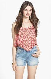 Levi's® High Waist Denim Shorts (Juniors)