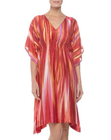 Hayworth Short Caftan, Azalea   Hayworth Short Caftan, Azalea