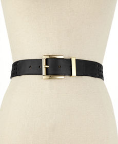 MICHAEL Michael Kors Perforated Pant Belt