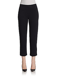 St. John Santana Knit Cropped Pants