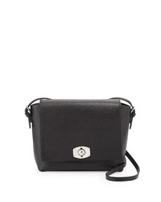 Furla New Appaloosa Saffiano Messenger Bag, Onyx