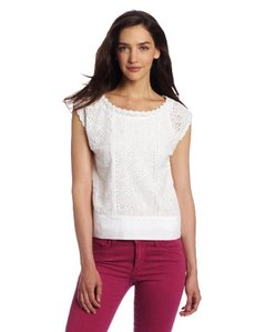 French Connection Women's In Bloom Crochet Top