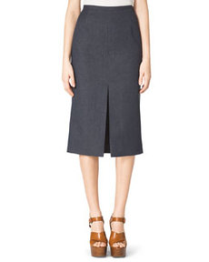 Front-Slit Pencil Skirt   Front-Slit Pencil Skirt