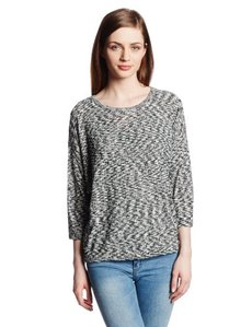 Kensie Women's Space Dye Slub Sweater