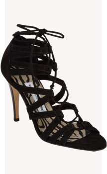 Manolo Blahnik Cipesco Lace-up Sandal