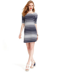 Tommy Hilfiger Striped Knit Dress