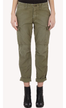 Rag & Bone Canvas Cargo Pants