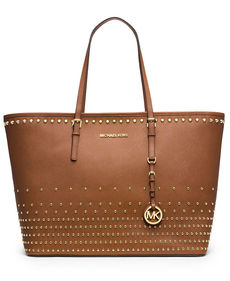 MICHAEL Michael Kors Jet Set Travel Stud Tote