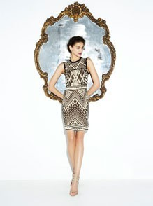 Maze Sequin Dress