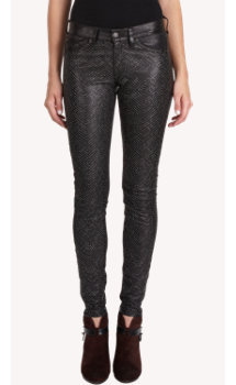 Rag & Bone Beaded Leather Hyde Pants