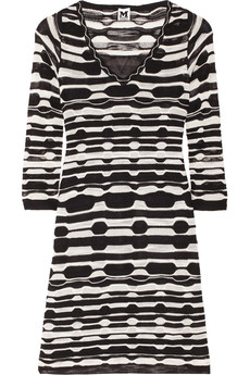 M Missoni Slub-knitted dress