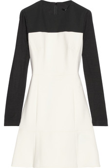 Tibi Anson color-block crepe dress