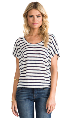 Joie Maddie Top in Navy