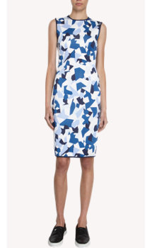 Givenchy Geometric Print Sheath Dress
