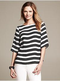 Multi-Stripe Blouse