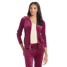Long Sleeve Velour Cotton Jacket