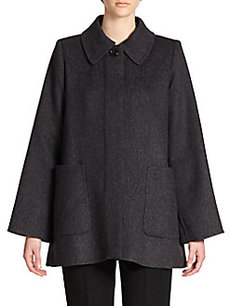 Marc Jacobs Wool Patch Pocket Coat