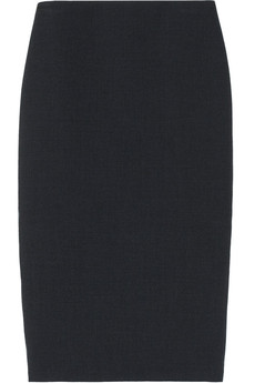 Miu Miu Wool-blend gabardine pencil skirt