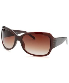 Kenneth Cole Reaction Women's Square Brown Sunglasses