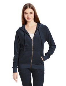 Juicy Couture Women's Solid Micro Terry Relaxed Jacket