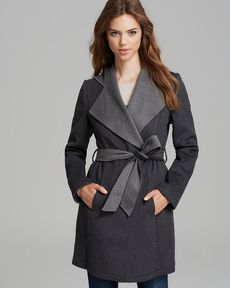 Laundry by Shelli Segal Coat - Double Face Hooded