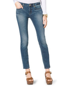 MICHAEL Michael Kors Faded Denim Skinny Jeans