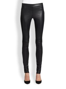 Robert Rodriguez Stretch Leather Leggings