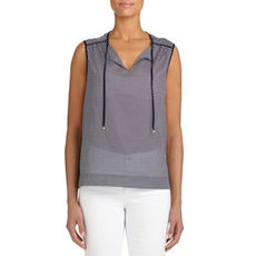 Sleeveless Cotton Tunic