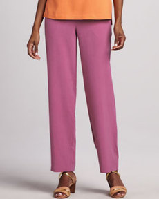 Go Silk Silk Ankle Pants