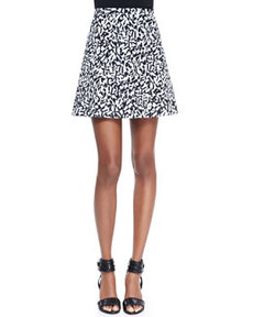 Lonati Pescara Printed Skirt   Lonati Pescara Printed Skirt