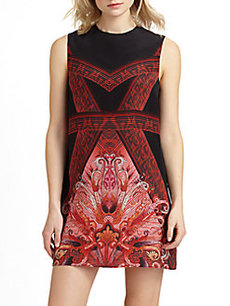 Gottex Swim Silk Indochine Shift Dress
