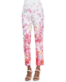 Lindley Floral-Print Pants   Lindley Floral-Print Pants