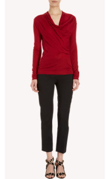 Derek Lam Cowl-Neck Sweater
