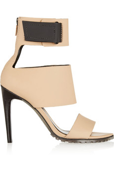 Tibi Evie matte-leather sandals